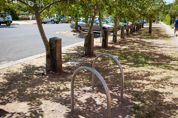 Bike parking sends a clear message that the community hear supports one of the best transport modes in the world!