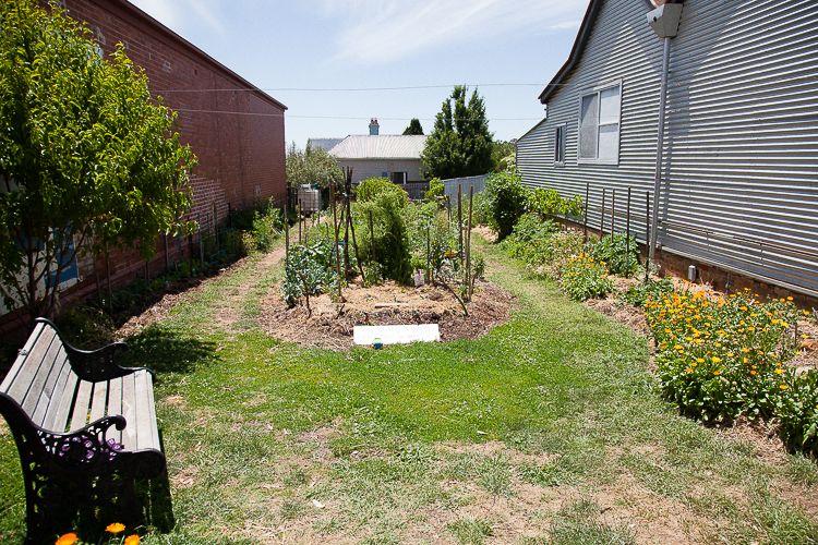 Daylesford community garden.