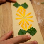 Edible Flower Mezza Luna
