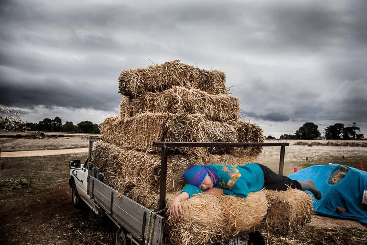 A sleep before thunder.